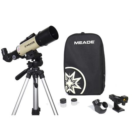 Telescopio Meade Adventure Scope 60mm, Refractor, con Mochila de transporte, f/6