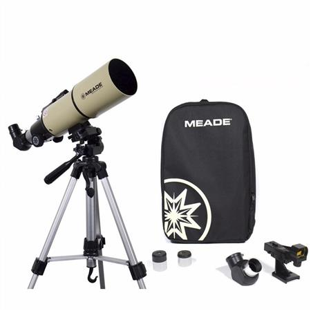 Telescopio Meade Adventure Scope 80mm, Refractor conTripode y bolso de transporte