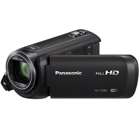 Panasonic Filmadora Full mod. Hd Hc-v380 - Zoom 50x y Wifi