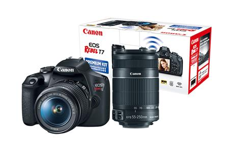 Canon EOS T 7 Kit ADVENTURE : OBJ. 18-55mm IS + 55-250mm AF IS